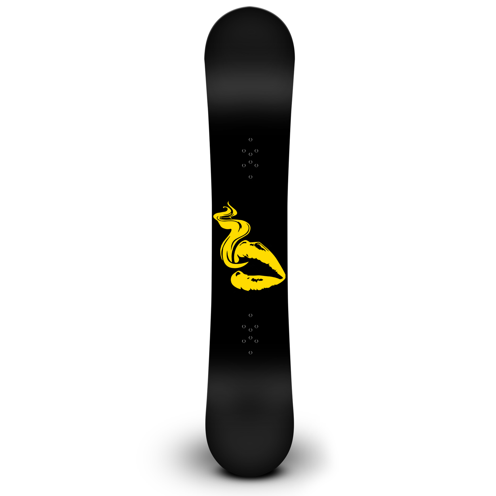Lips Smoking Snowboard Sticker All Weather Vinyl Decal